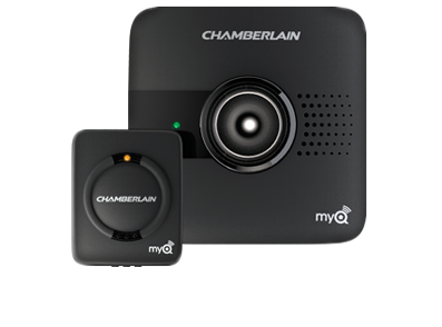 the chamberlain myq is just the smart remote part of the previous garage door opener it is a lot simpler to install but it does come with the downsides of