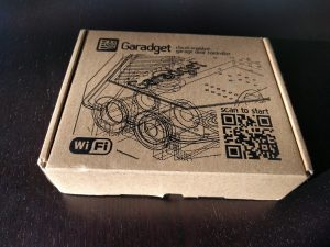 garadget is a smart garage door opener that was actually crowdfunded on kickstarter the founder wanted a simple to install low maintenance opener that
